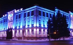Декоративное освещение фасадов