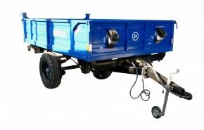 Виды и преимущества прицепов для тракторов