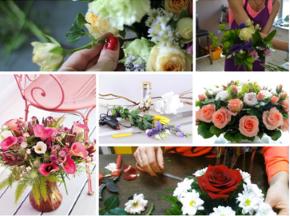 Где найти красивые цветы для девушки в Днепре