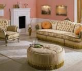 Материалы для обивки диванов и особенности их чистки