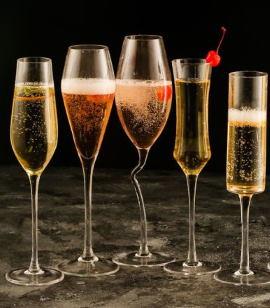 Разновидности бокалов для напитков