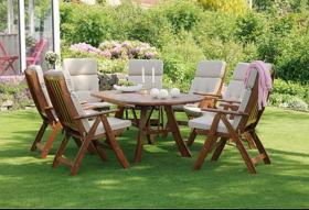 Садовая мебель: из какого материала выбрать