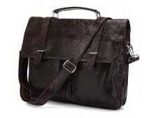 Кожаный мужской портфель: удобство и стиль