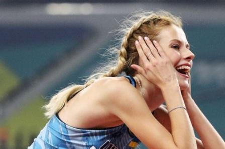 Ярослава Магучих установила новый рекорд Украины