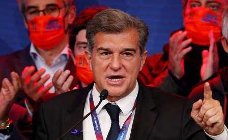 Гвардиола считает, что Лапорта добавит «Барселоне» оптимизма