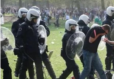 В Бельгии произошли беспорядки из-за первоапрельской шутки