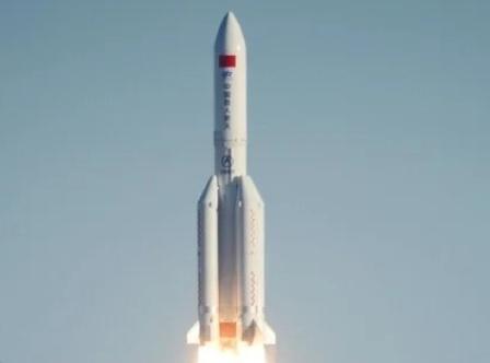 Китай запустил на орбиту ракету с модулем космической станции