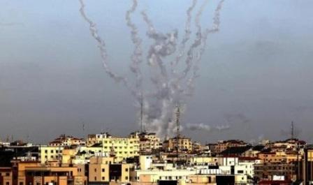 Израиль атаковал сектор Газа после ракетных обстрелов