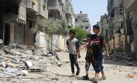 Армия Израиля начала наземную операцию в секторе Газа