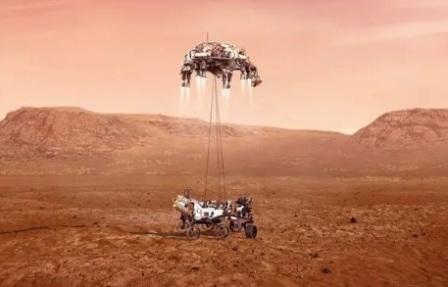 Китай стал второй страной в мире, которая посадила космический аппарат на Марс