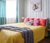 Как преобразит интерьер с помощью покрывала на кровать и диван