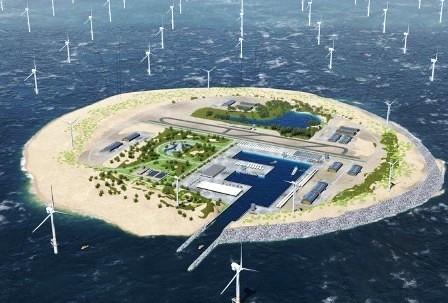 В Дании построят искусственный остров за $ 3,3 млрд.